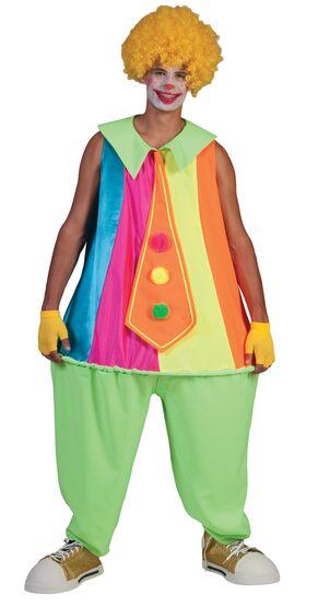 Clumsy Clown Adult Costume