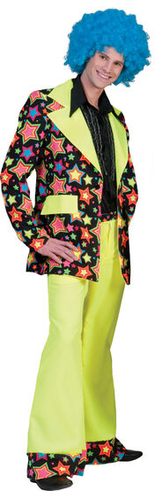 70s Psychedelic Star Adult Costume