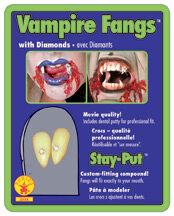 Vampire Fangs With Diamond