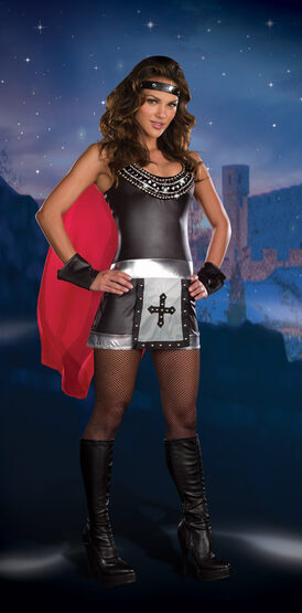 Sexy Battle Babe Medieval Warrior Costume