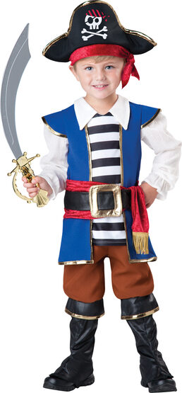 Swashbuckling Pirate Kids Costume