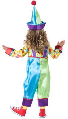 Cackling Clown Kids Costume