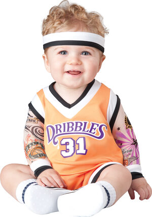 Double Dribbles Basketball Baby Costume