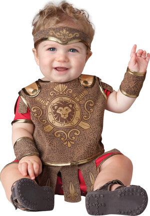 Giddy Gladiator Baby Costume