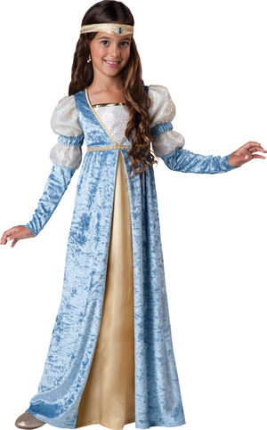 Renaissance Maiden Marion Kids Costume