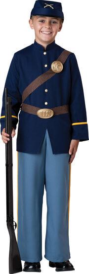 Civil War Soldier Kids Costume