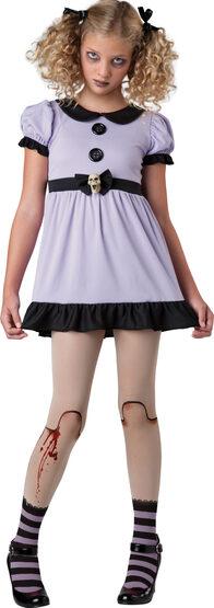 Dead Dolly Rag Doll Kids Costume