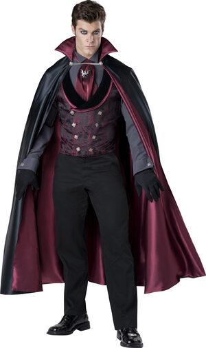 Midnight Count Vampire Adult Costume