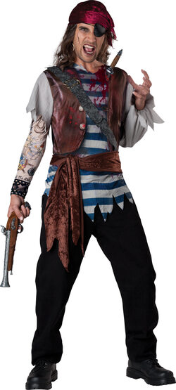Dead Man's Chest Pirate Adult Costume