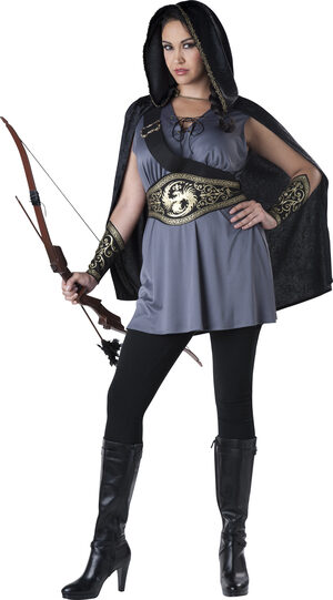 Midnight Huntress Plus Size Costume