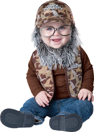 Uncle Si Duck Dynasty Baby Costume