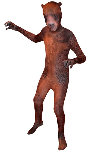 Grizzly Bear Morphsuit Kids Costume