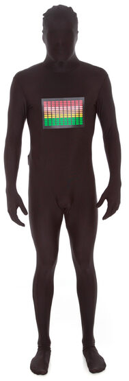 Funny Raver Morphsuit Adult Costume