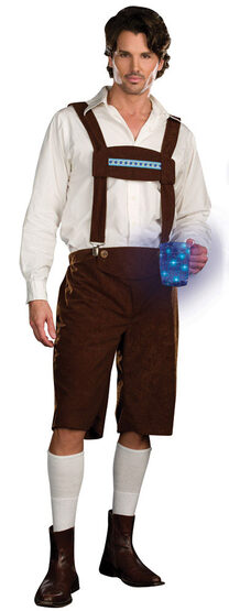 Glow Lightly Oktoberfest Adult Costume