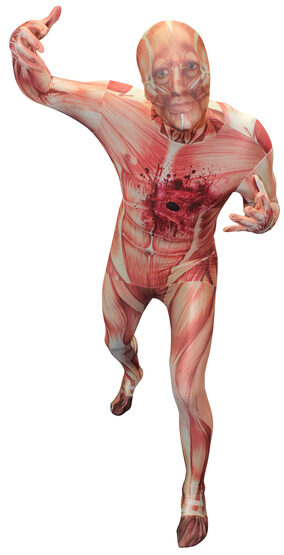 Muscle Morphsuit Adult Costume