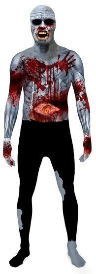 Exploding Heart Zombie Adult Costume