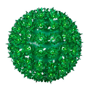 "Green 7.5"" Halloween Light Sphere"