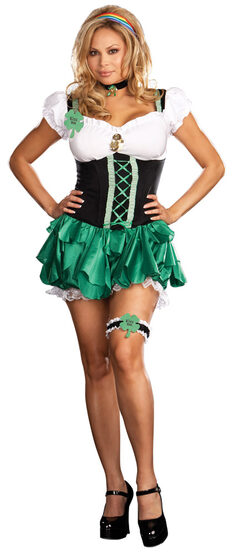 Good Luck Charm St Patricks Day Plus Size Costume
