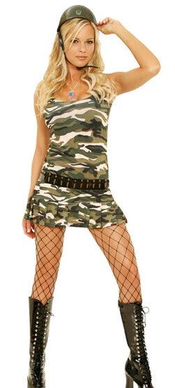 Sexy Cadet Cutie Army Costume
