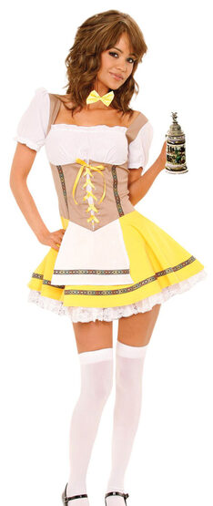 Sexy Bavarian Beauty Beer Girl Costume