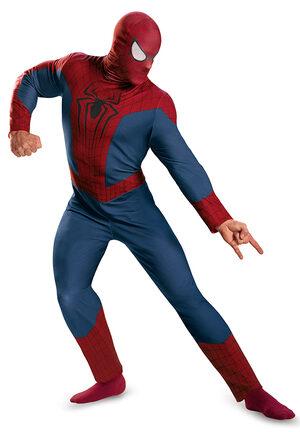Classic Spiderman Adult Costume