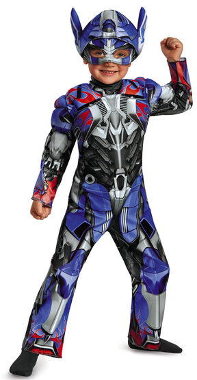 Optimus Prime Muscle Chest Toddler Kids Costume