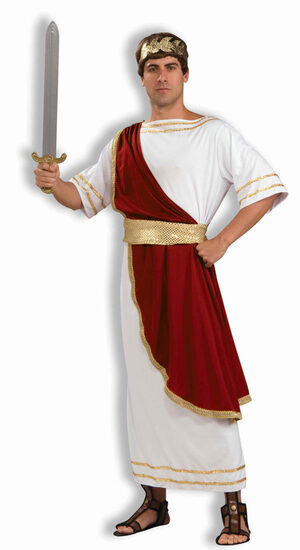 Mens Roman Julius Caesar Adult Costume