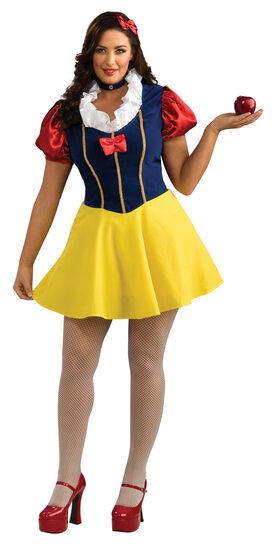 Sexy Snow White Plus Size Costume