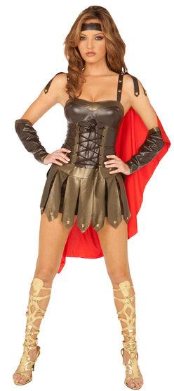 Sexy Spartan Warrior Greek Costume