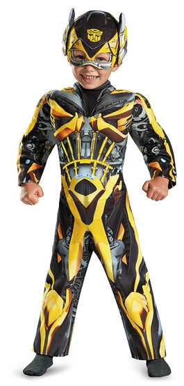 Transformer Bumblebee Light Up Toddler Kids Costume