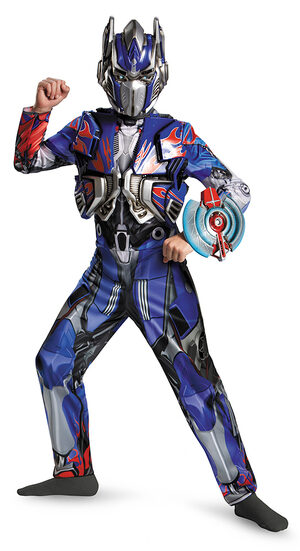 Deluxe Transformers Optimus Prime Kids Costume
