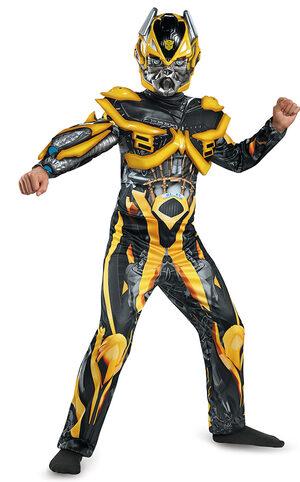 Deluxe Transformers Bumblebee Kids Costume