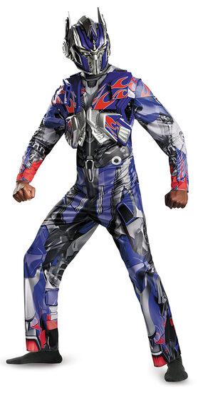 Deluxe Optimus Prime Transformers Adult Costume