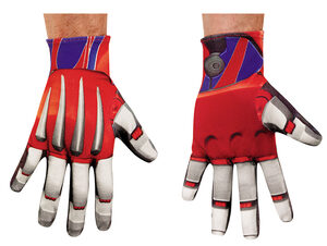 Optimus Prime Transformers Adult Gloves