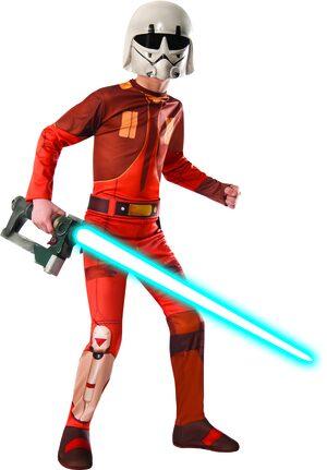 Ezra Star Wars Kids Costume