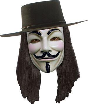 V For Vendetta Adult Wig