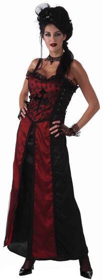 Sexy Gothic Mistress Costume