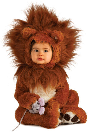 Ferocious Lion Cub Baby Costume