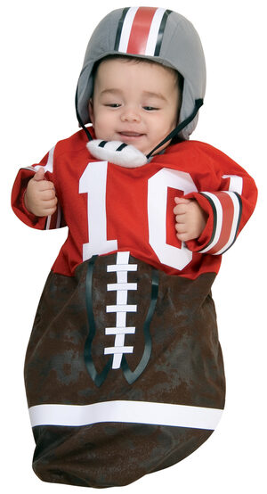 Bunting Football Baby Costume