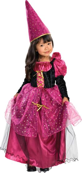 Magenta the Mystic Witch Kids Costume