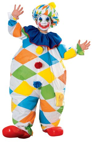 Inflatable Clown Kids Costume