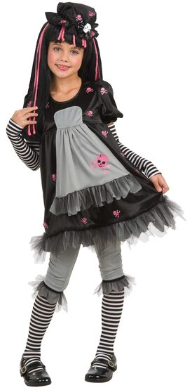 Doll-Ista Gothic Kids Costume