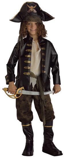 Pirate Captain Kids Costume
