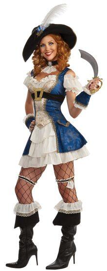 Sexy Bonnie Blue Pirate Costume