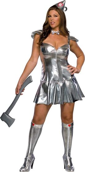 Sexy Tin Woman Plus Size Costume