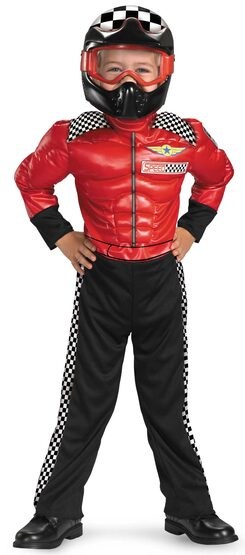 Turbo Race Car Driver Kids Costume