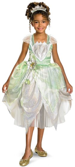 Disney Princess Tiana Kids Costume