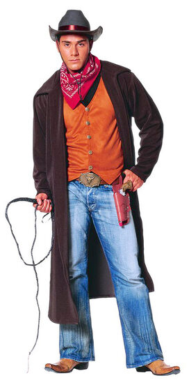 Mens Gun Slinging Cowboy Adult Costume
