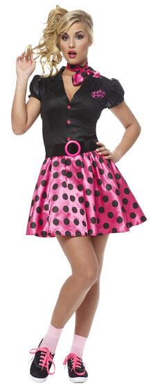 50s Sock Hop Cutie Adult Costume