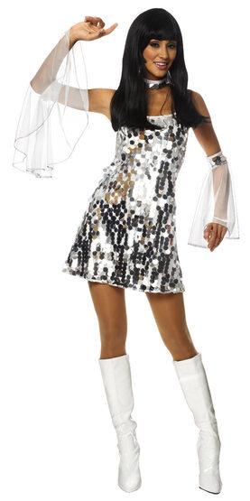 Sexy Dazzling 60s Costume